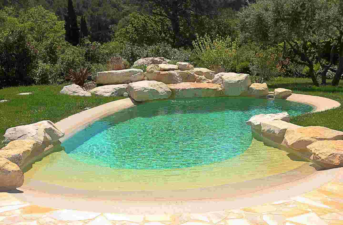 nature and natural pool diffazur swimming pools. Black Bedroom Furniture Sets. Home Design Ideas