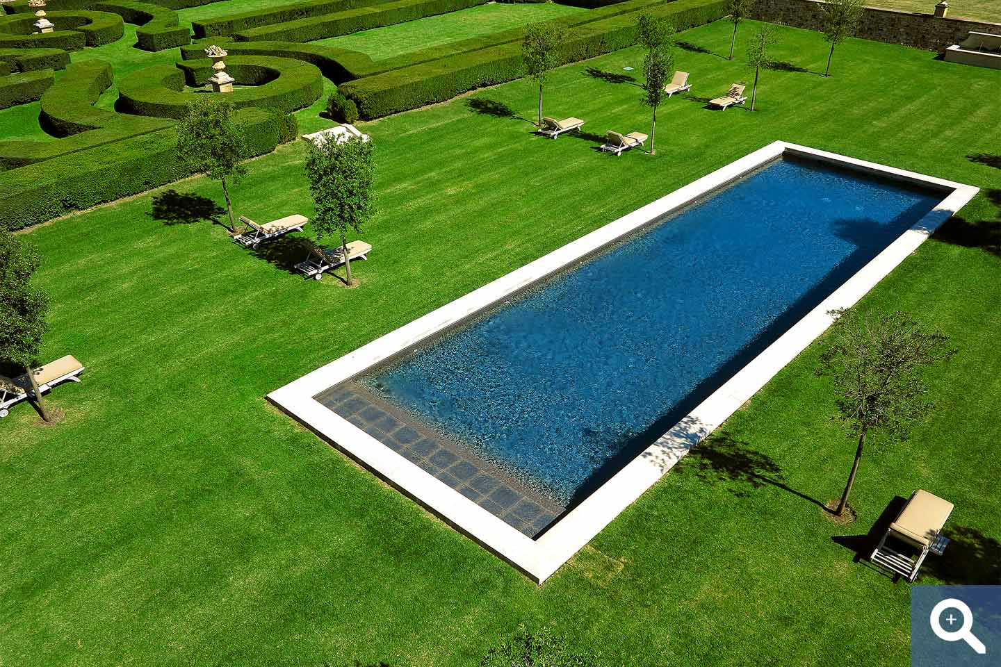 Swimming corridor – rectangular pool Diffazur