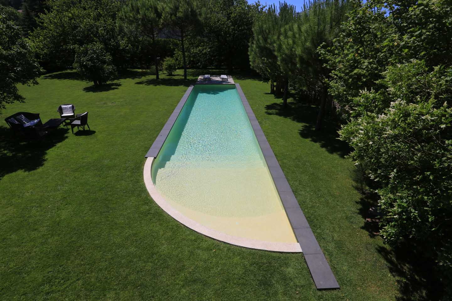 R alisations couloir de nage diffazur piscines for Piscine couloir de nage