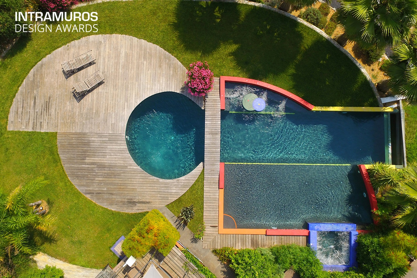 piscine récompensée INTRAMUROS DESIGN AWARDS 2018